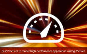high-performance applications using ASP DotNet